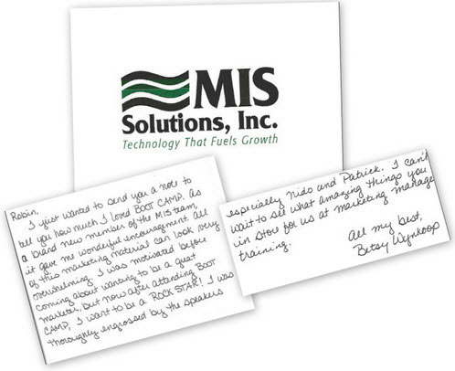 MIS Solutions Thank you